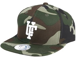 Spinback Camo Snapback - State Of Wow