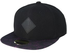 Kids Spirit Black/Pattern Snapback - State Of Wow