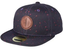 Kids Omaha Burgundy Snapback - State Of Wow