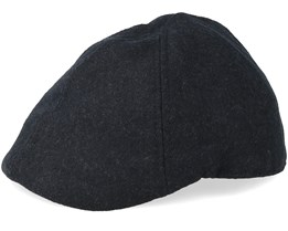 Dan Dark Grey Melange Flat Cap - State Of Wow