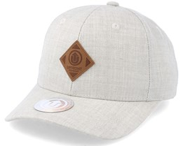 Off Spring Baseball Off White/Brown Snapback - Upfront
