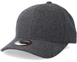 Woodbury Wool Baseball Dark Grey Melange Adjustable - State Of Wow