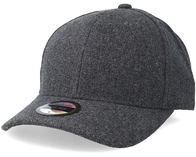 e8be0b17ecade Woodbury Wool Baseball Dark Grey Melange Adjustable - State Of Wow caps -  Hatstoreaustralia.com