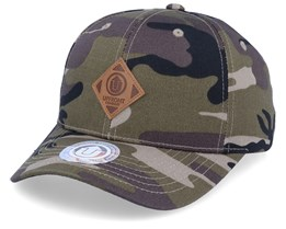 Off Spring Green Camo Adjustable - Upfront