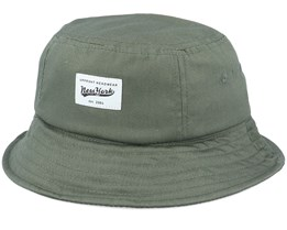 Kids Gaston Youth Hat Army Green Bucket - Upfront