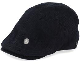 Fellow Duckbill Black Flat Cap - Upfront