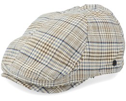 Lord Duckbill Light Brown Flat Cap - Upfront