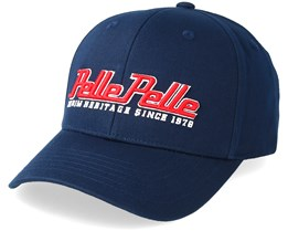 Heritage Curved Navy Adjustable - Pelle Pelle
