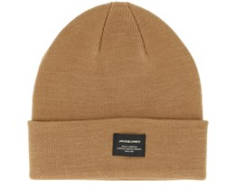 Jacdna Noos Brown Beanie - Jack & Jones
