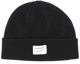 Jacaue Short Black Beanie - Jack & Jones