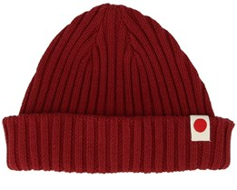 Knit Wine Red Shortbeanie - Jack & Jones