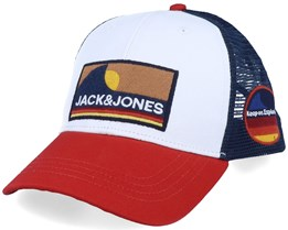 Explore White/Chili Trucker - Jack & Jones
