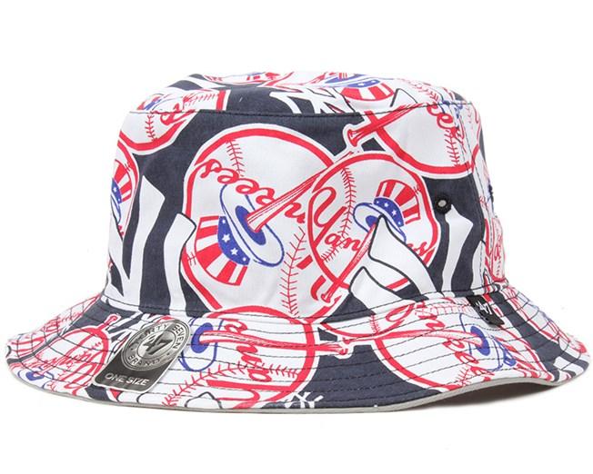 NY Yankees Bravado Bucket - 47 Brand hats  464562f0c31d