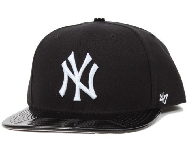 2c2097d8696 NY Yankees Shinedown Black White Snapback - 47 Brand caps ...