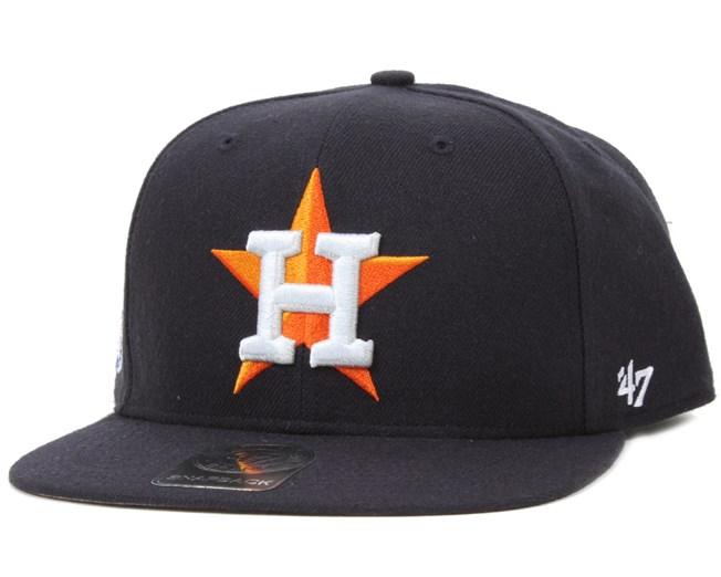 7e5fd3ea6eeaa Houston Astros Sure Shot Navy Snapback - 47 Brand caps ...