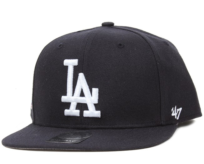 ae2701af46b LA Dodgers Sure Shot Navy White Snapback - 47 Brand caps ...