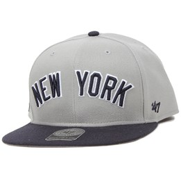 727dd300e97672 47 Brand NY Yankees Script Side Grey Snapback - 47 Brand £26.99 £29.99. New  Era ...