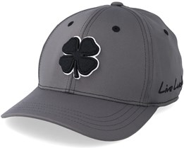 Premium Clover Black White/Charcoal Flexfit - Black Clover