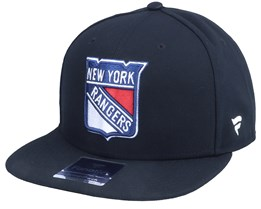 New York Rangers Primary Logo Core Black Snapback - Fanatics