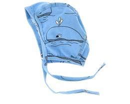 Kids Baby  Whale Blue Beanie - JNY Kids
