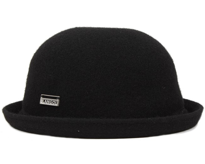 Wool Bombin Black - Kangol hat - Hatstore.co.in 6885c23a593
