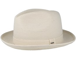 Tate White Trilby - Bailey
