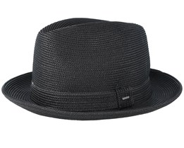 Tate Black Fedora - Bailey