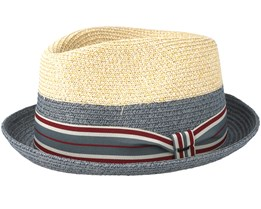 Craig Navy/Natural Trilby - Bailey