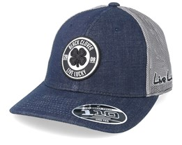 Anniversary Patch Navy/Grey 110 Trucker - Black Clover