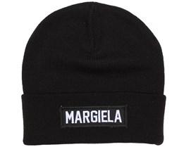 Margiela Patch Black Beanie - Les (Art)Ists