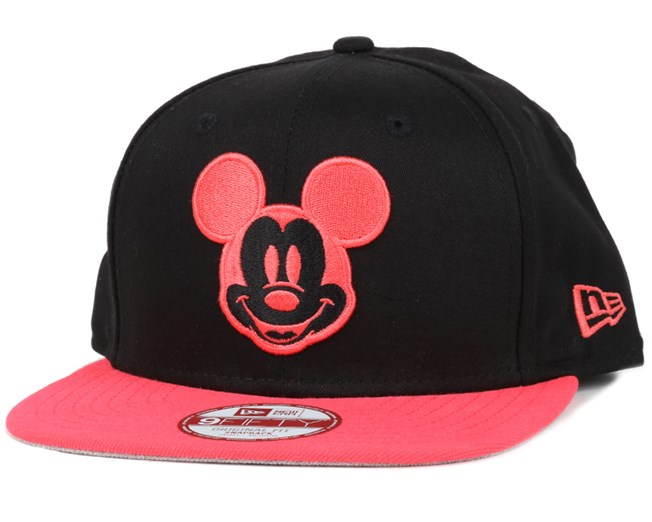 bc5a54b7035 Mickey Mouse Two Tone Character Black 9Fifty Snapback - New Era caps ...