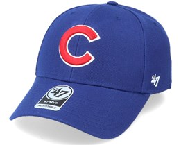 Chicago Cubs Mvp Dark Royal/Red Adjustable - 47 Brand