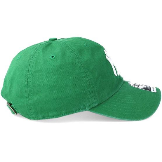 meet 7ac4c d19a3 New York Yankees Clean Up Kelly Adjustable - 47 Brand caps -  Hatstoreworld.com