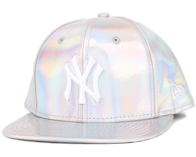 NY Yankees Crown Shine White 9Fifty Snapback - New Era cap ... 82bc1c27376f