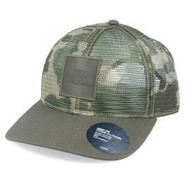 Seattle Washington Snapback Mesh Trucker Hat Cap  Army Green