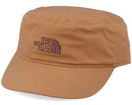 Logo Military Hat Cedar Brown Army - North Face