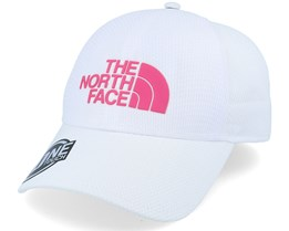 One Touch Lite Cap White/Mr Pink Flexfit - The North Face