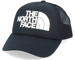 Kids Logo Black/White Trucker - The North Face