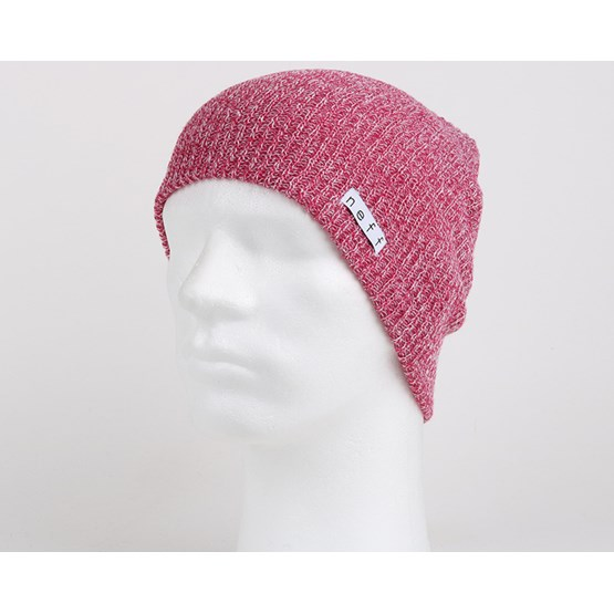 8af4f263aa6 Daily Heather White Pink Beanie - Neff beanies
