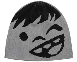 Kids Happy Black/Grey Beanie - Neff