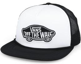 Classic Patch Tru White-Black Snapback - Vans