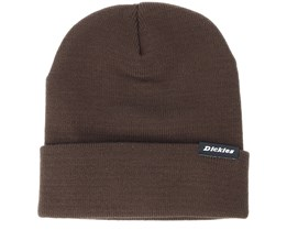 Alaska Dark Brown Beanie - Dickies