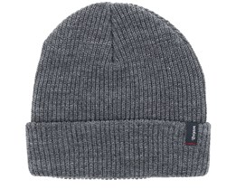 Heist Heather Grey Beanie - Brixton