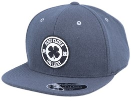 Melton Diamond Wool Grey Snapback - Black Clover