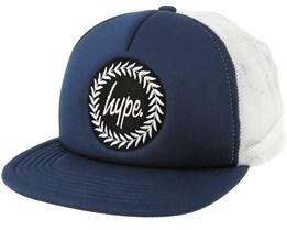 Crest Navy/White Trucker - Hype