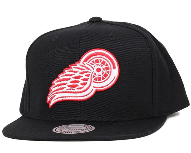 Detroit Red Wings Upside Down Logo Snapback - Mitchell   Ness caps ... 461ec08b5