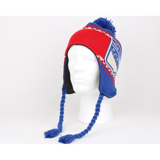 655621c2 NY Rangers Faceoff Tassle Knit Pom - Reebok beanies | Hatstore.co.uk