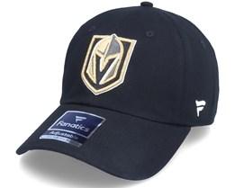 Vegas Golden Knights Primary Logo Core Black Dad Cap - Fanatics