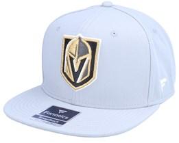 Vegas Golden Knights Primary Logo Core Sports Grey Snapback - Fanatics