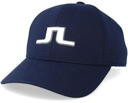 cef1e1e4240 Sweat Tech Jersey JL Navy White Adjustable - J.Lindeberg